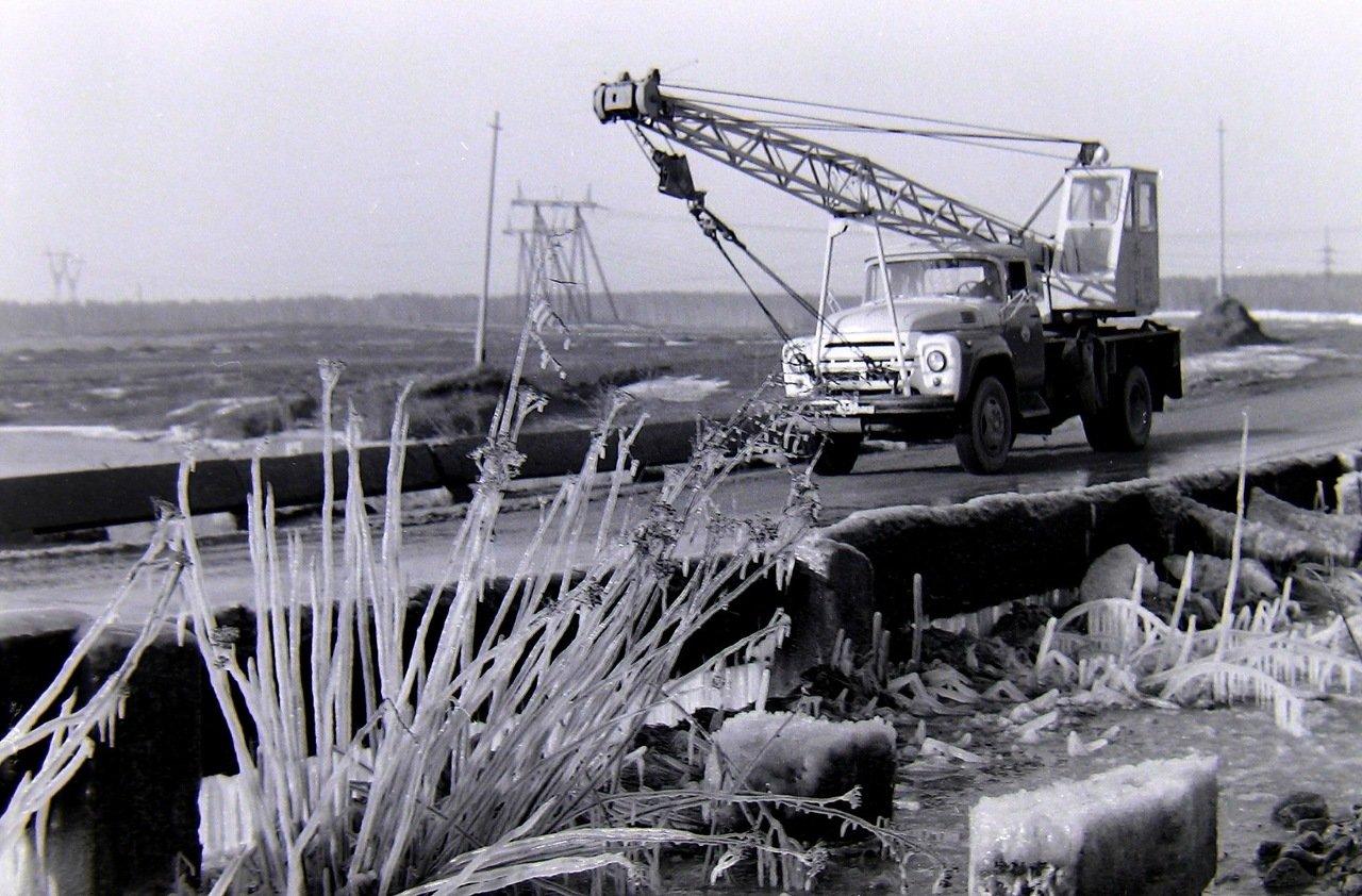 Боровское шоссе,весна 1980 г.