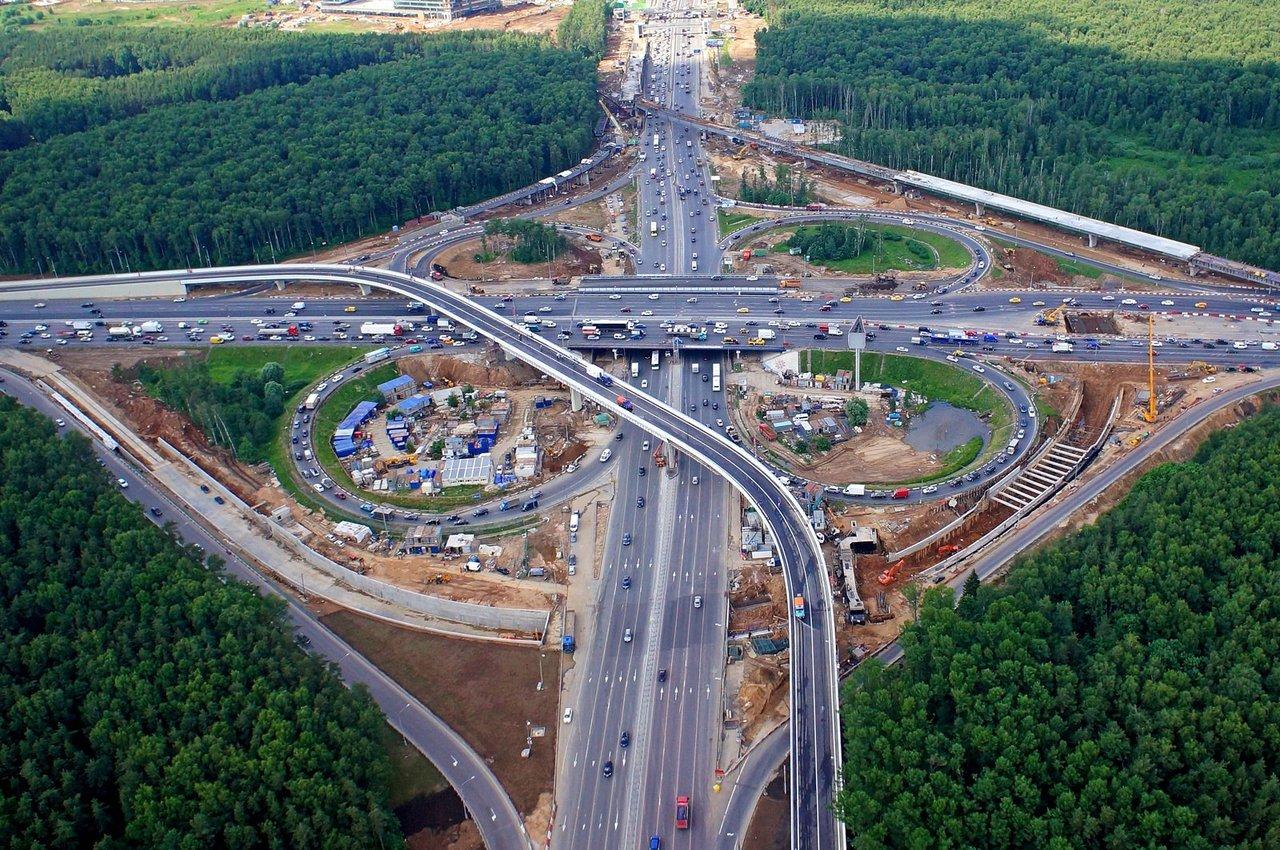 Развязка мкад боровское шоссе схема