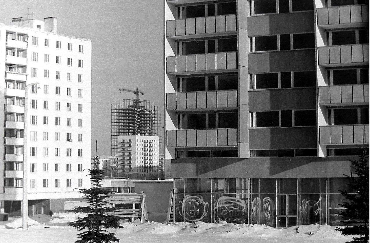 Москва,ул.Удальцова, примерно 1970 г.