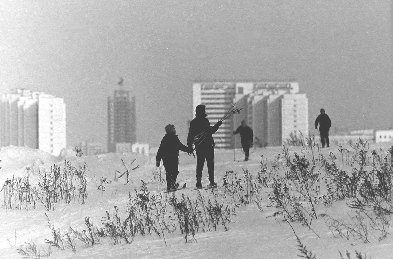 Москва, Юго-запад, примерно 1972-й год.