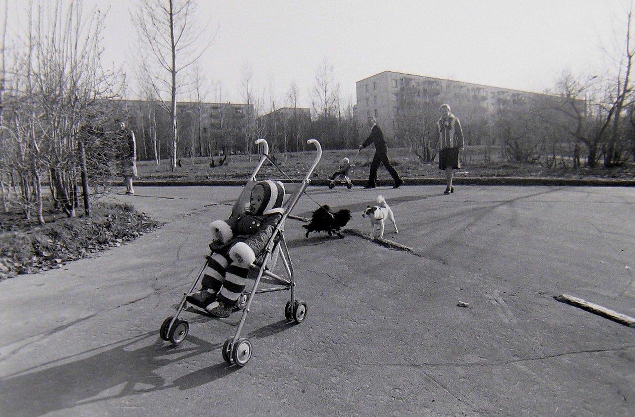 Ул. Удальцова,у д.10, 1982 г.