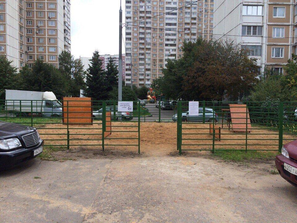 Новая детская площадка переделкино