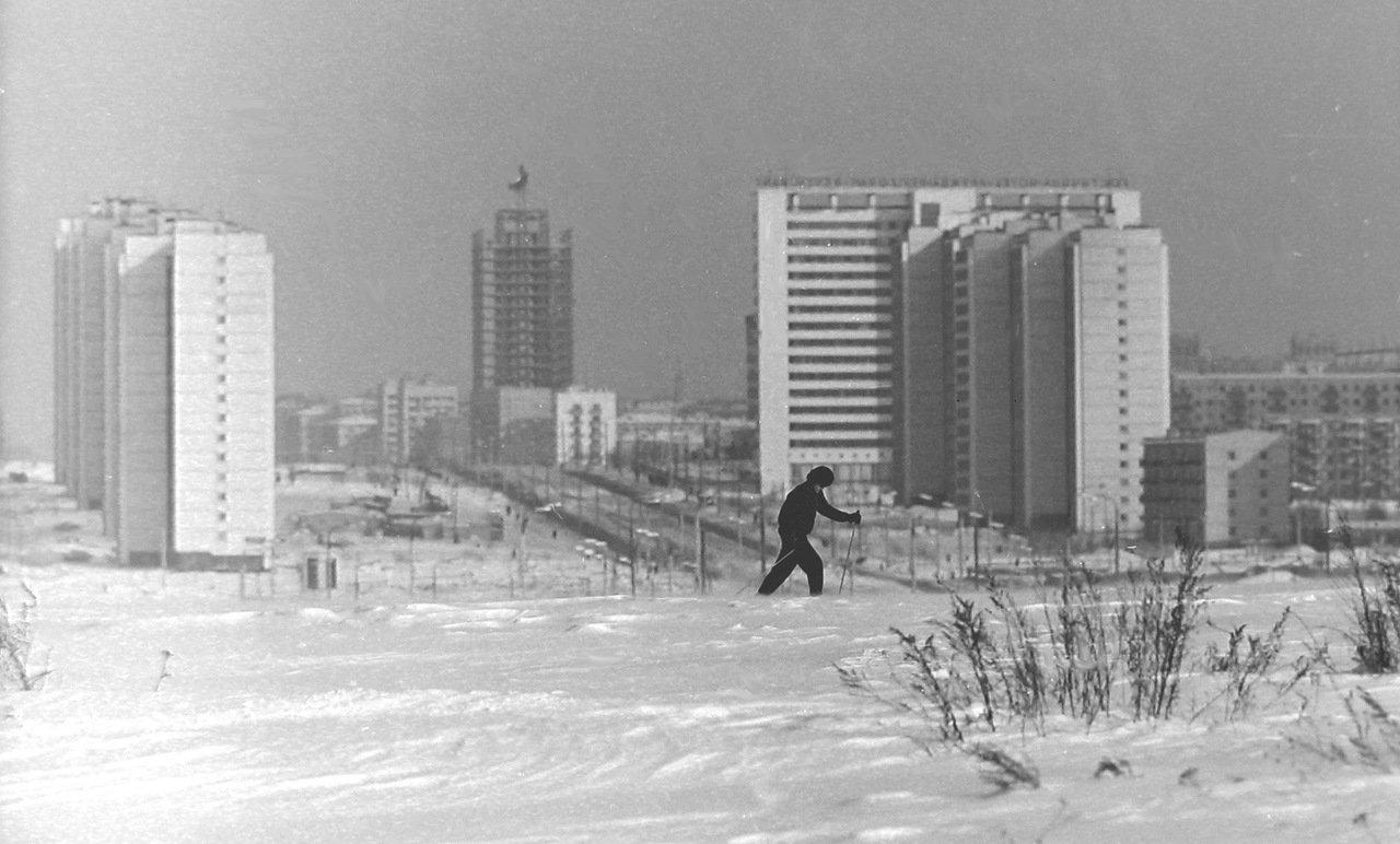 Москва, Юго-запад, примерно 1972-й год