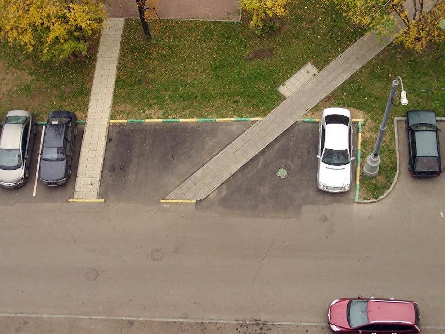 Как сделать придомовую парковку 990