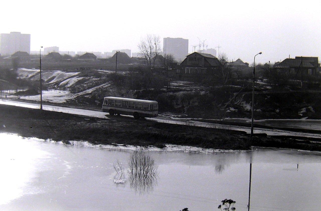 Боровское шоссе, д.Никулино,весна 1980г.
