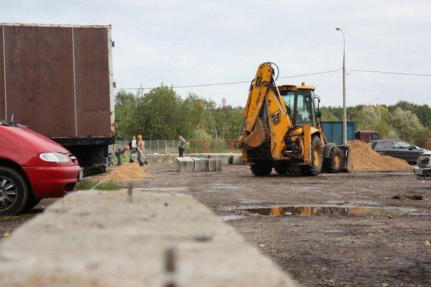 Стройка Храма на Чоботовской