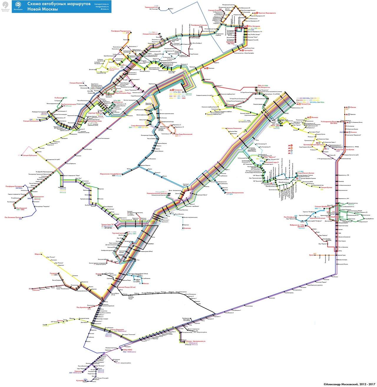 Схема метро в солнцево и переделкино
