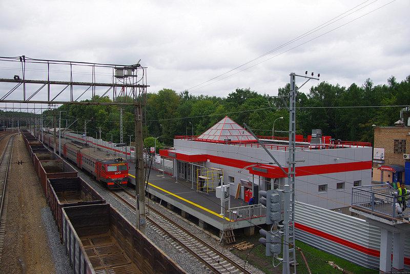 станция новопеределкино на схеме
