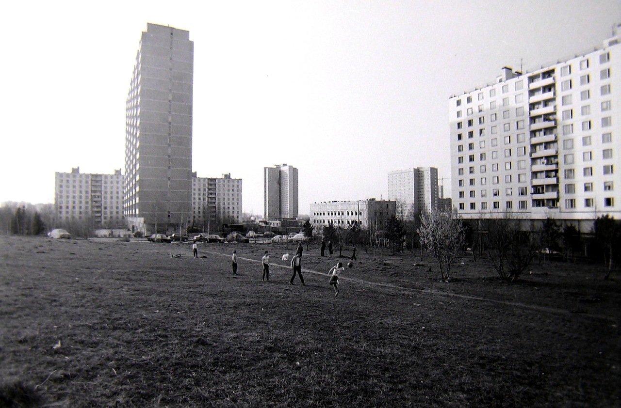 Москва, Юго-запад, ул Удальцова,1982 г.