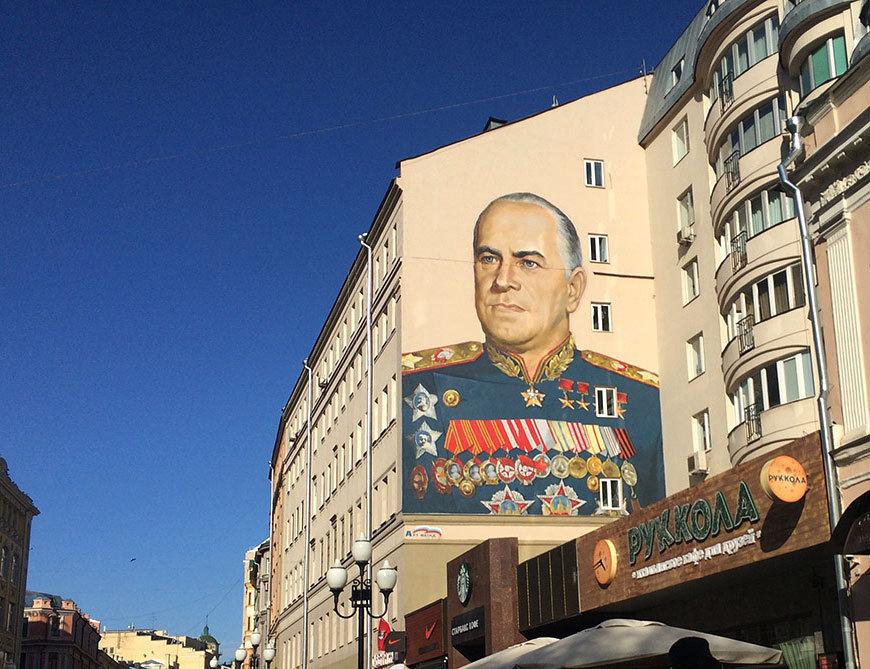 Картинки по запросу фасады домов с граффити с жуковым