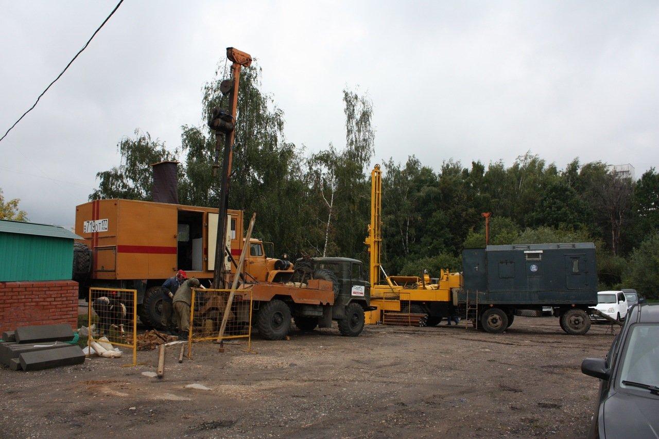 Стройка нового храма на Чоботовской улице