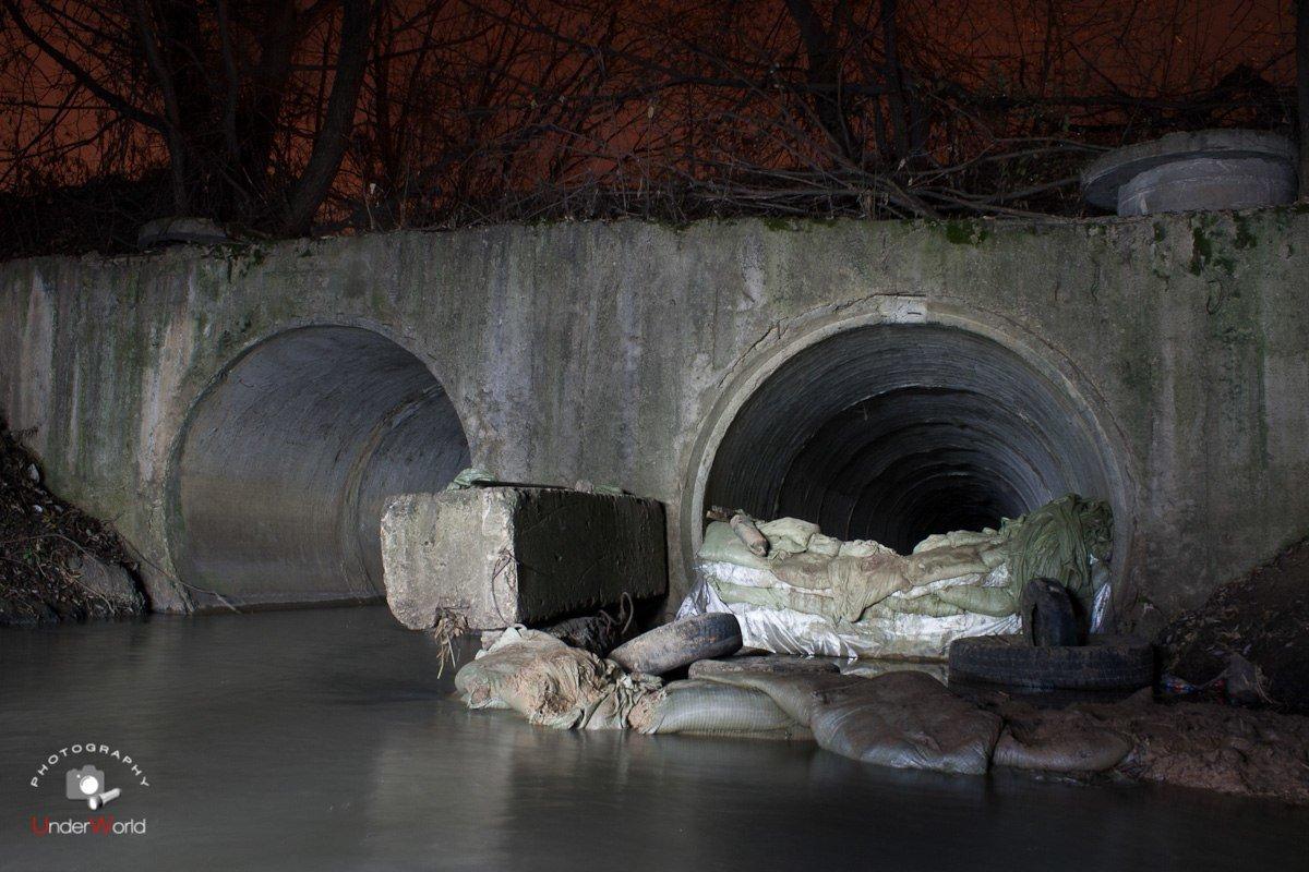 Коллектор реки Сетунь