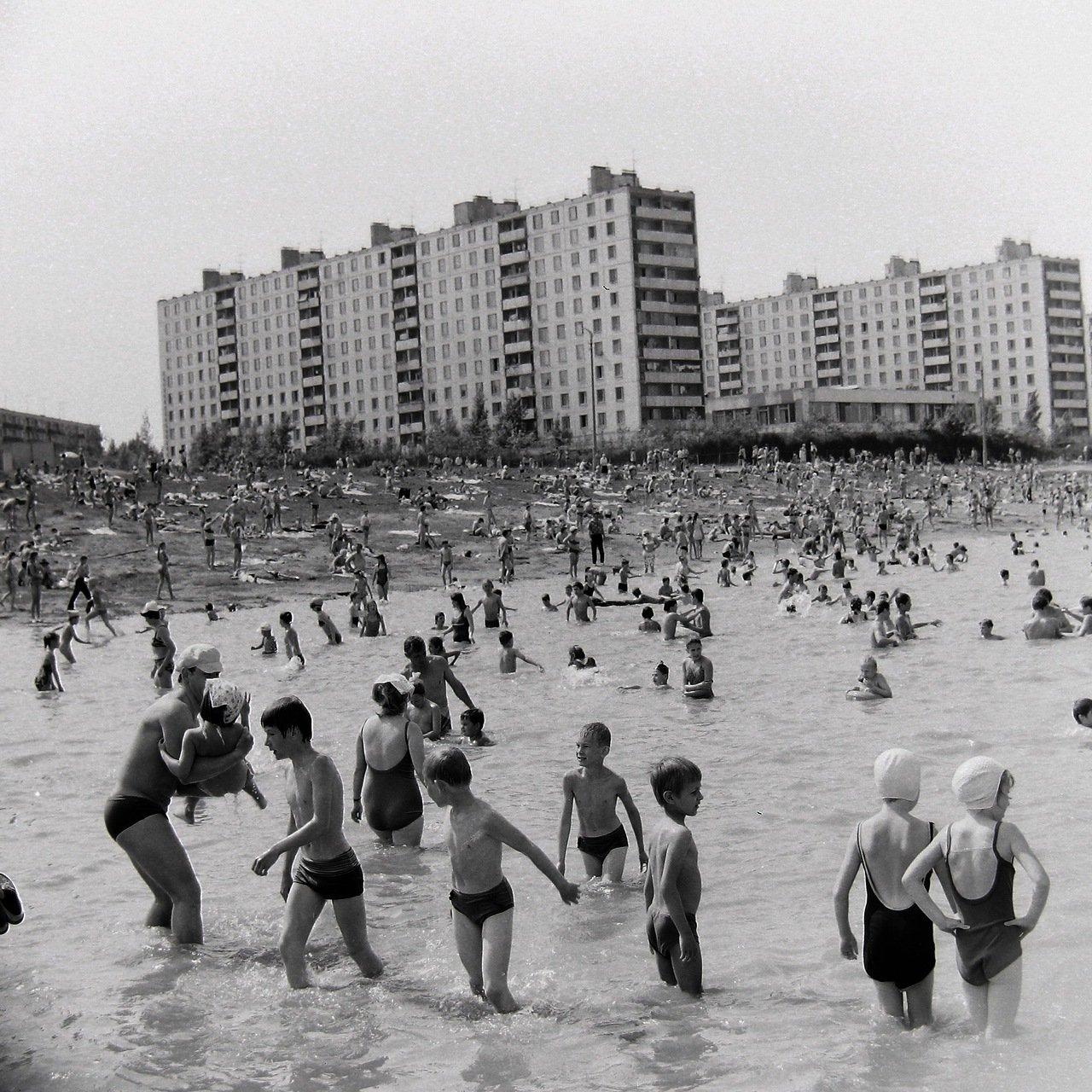 1972. Москва,ул.Удальцова