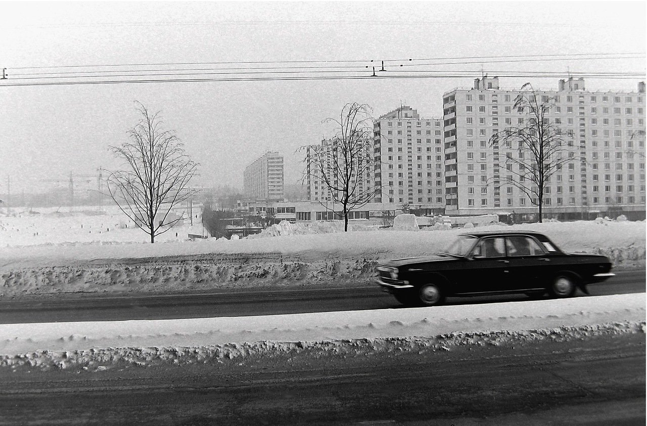 1976. Москва, Юго-запад