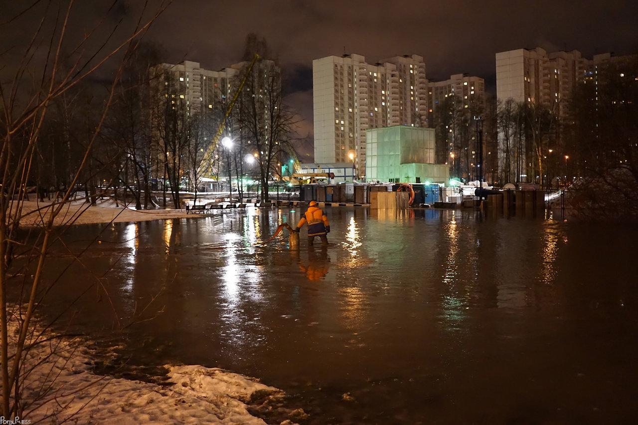Устранение потопа в Солнцево