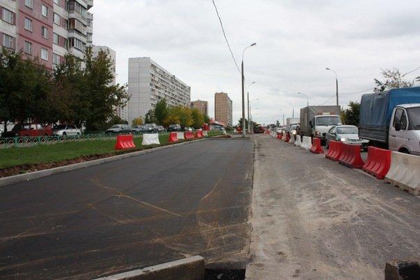 Новая парковка в Ново-переделкино